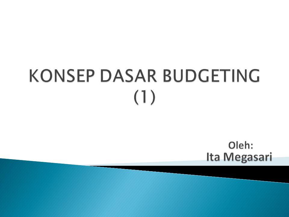 KONSEP DASAR BUDGETING (1)