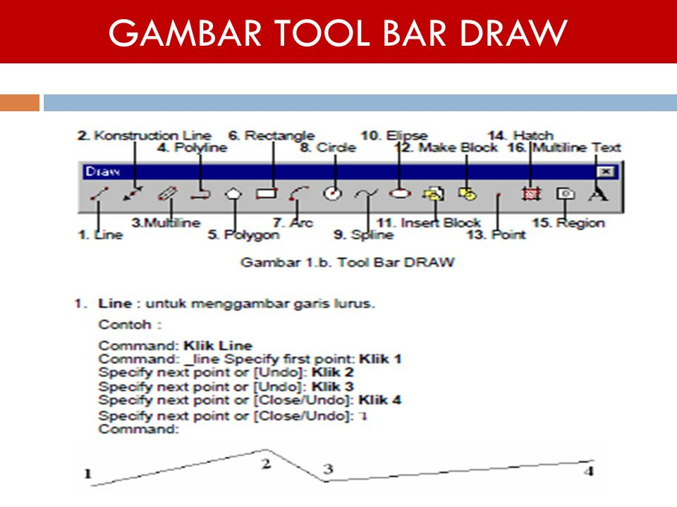 GAMBAR TOOL BAR DRAW