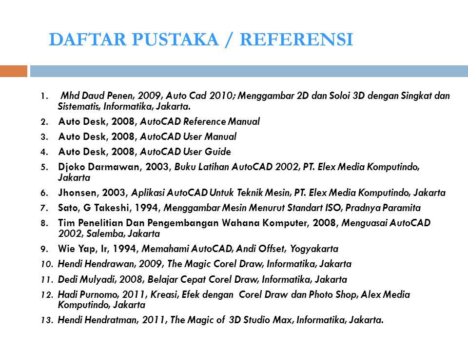 DAFTAR PUSTAKA / REFERENSI