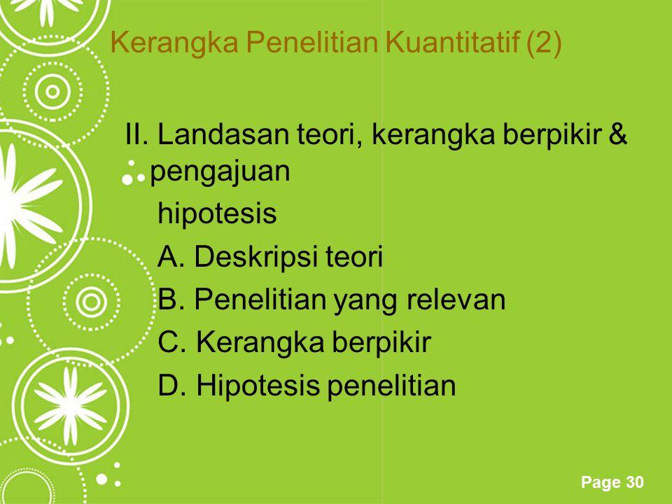 Kerangka Penelitian Kuantitatif (2)