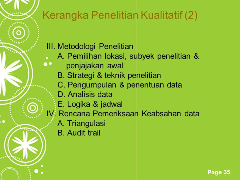 Kerangka Penelitian Kualitatif (2)