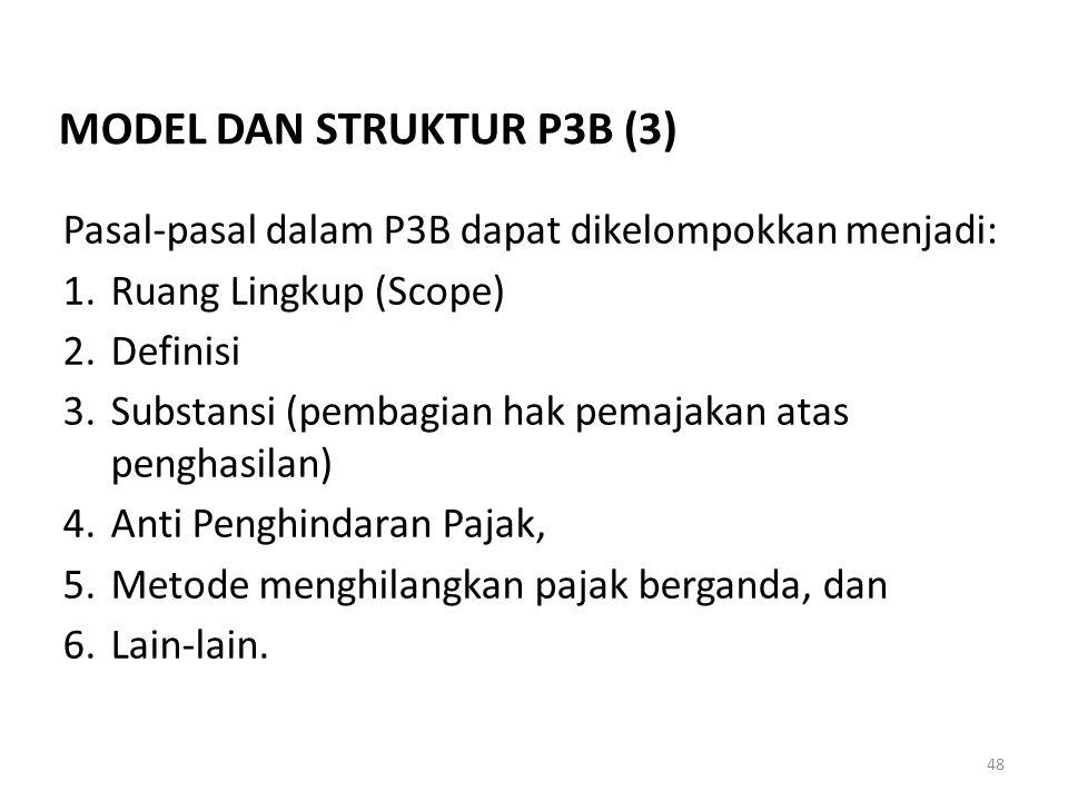 MODEL DAN STRUKTUR P3B (3)