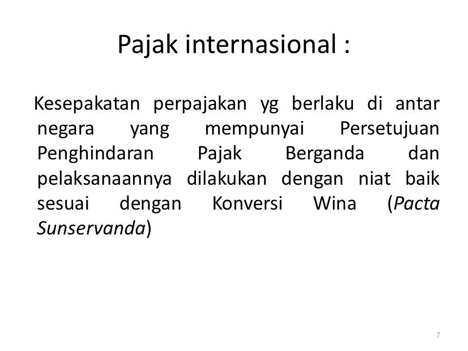 Pajak internasional :