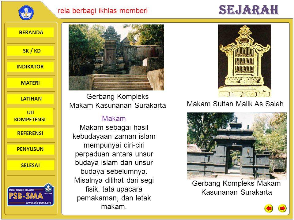Makam Kasunanan Surakarta Makam Sultan Malik As Saleh