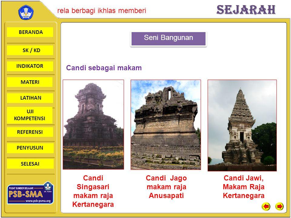 Candi Singasari makam raja Kertanegara Candi Jago makam raja Anusapati