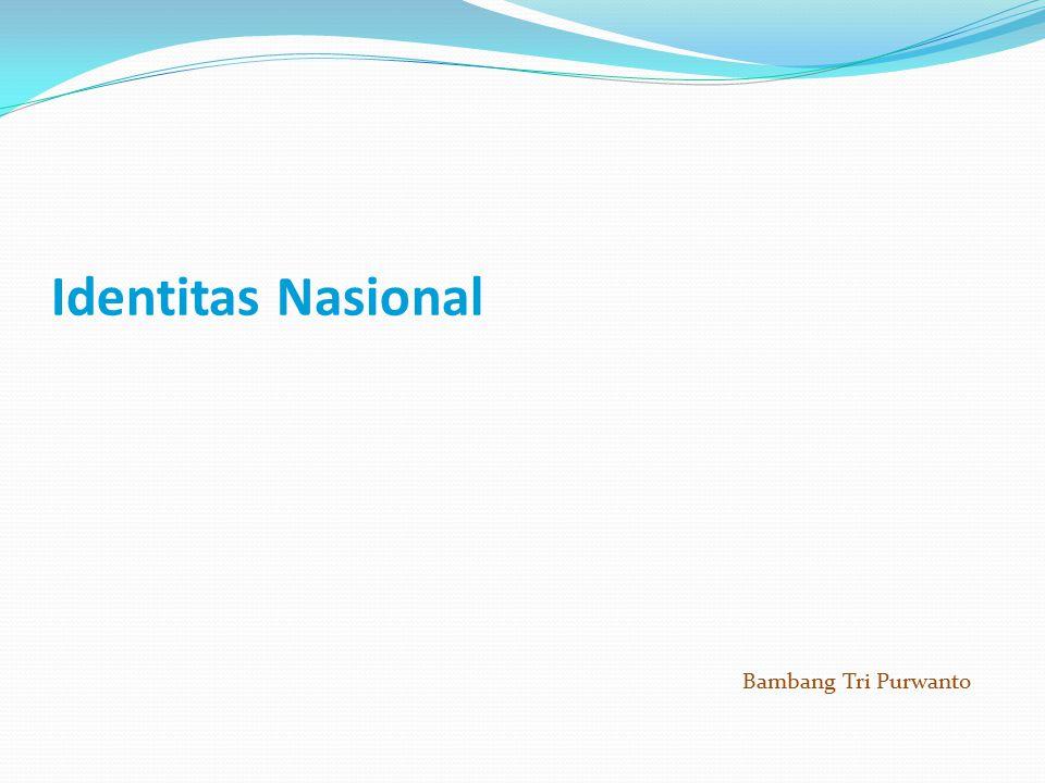 Identitas Nasional Bambang Tri Purwanto