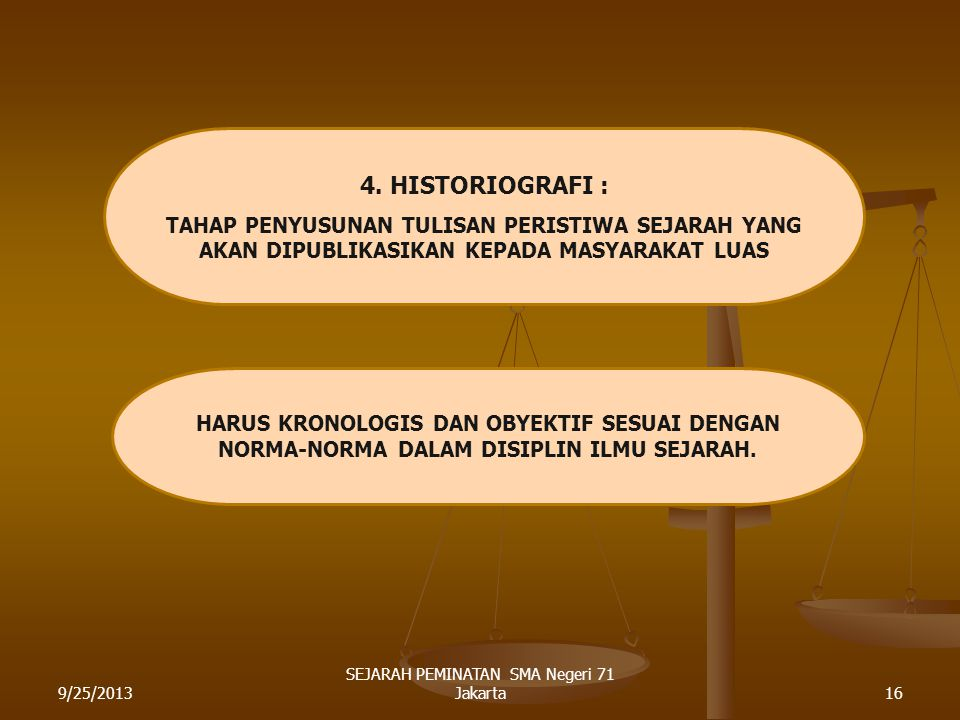 SEJARAH PEMINATAN SMA Negeri 71 Jakarta