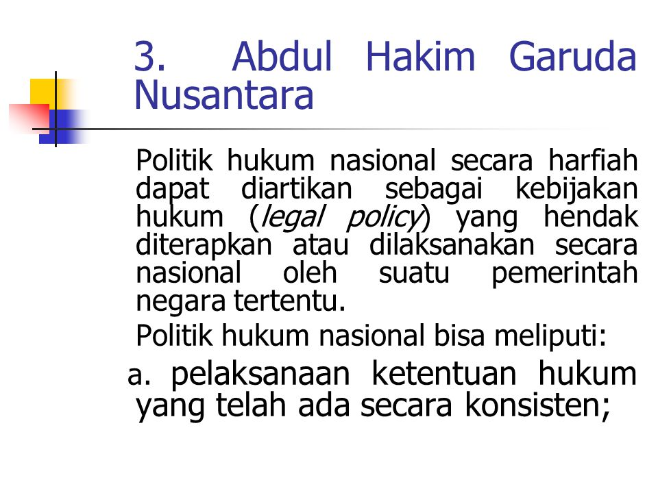 . 3. Abdul Hakim Garuda Nusantara