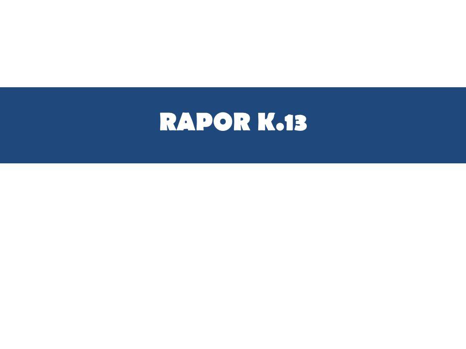RAPOR K.13