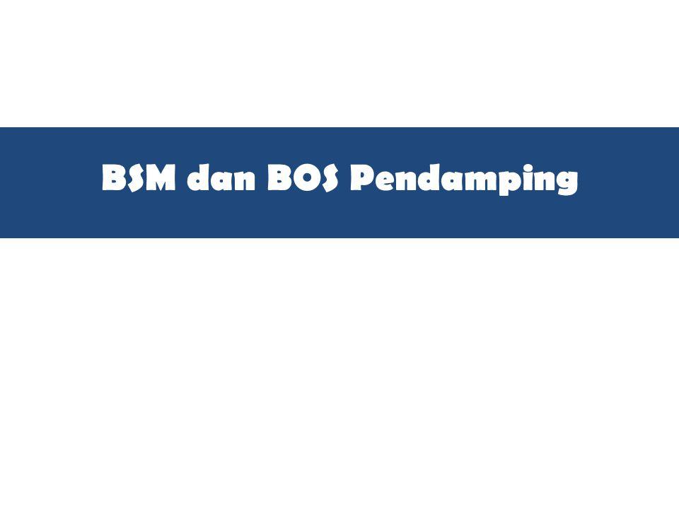 BSM dan BOS Pendamping