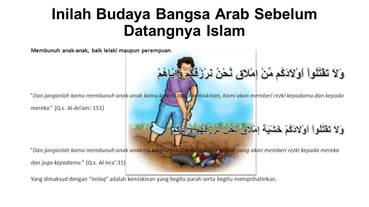 Inilah Budaya Bangsa Arab Sebelum Datangnya Islam
