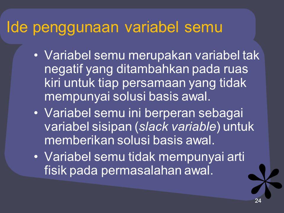 Ide penggunaan variabel semu