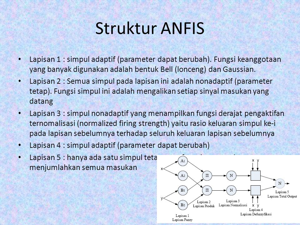 Struktur ANFIS