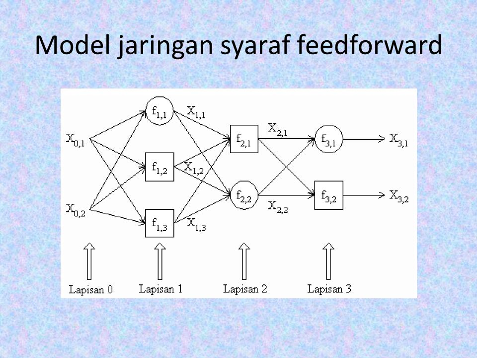 Model jaringan syaraf feedforward