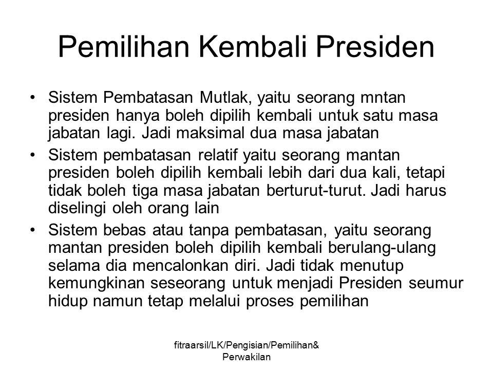 Pemilihan Kembali Presiden