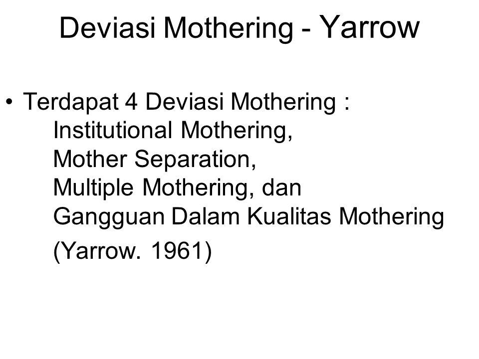 Deviasi Mothering - Yarrow