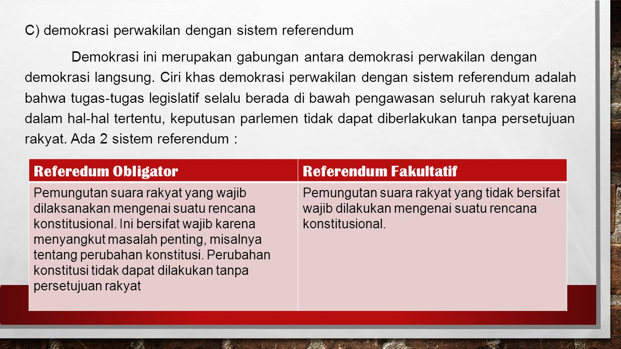 Referendum Fakultatif