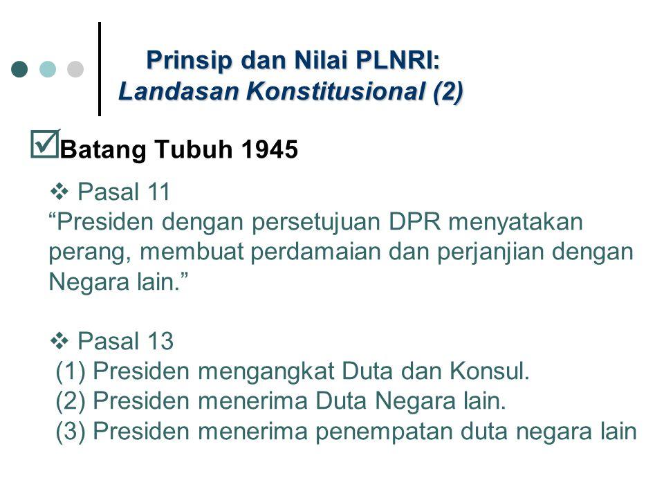 Prinsip dan Nilai PLNRI: Landasan Konstitusional (2)