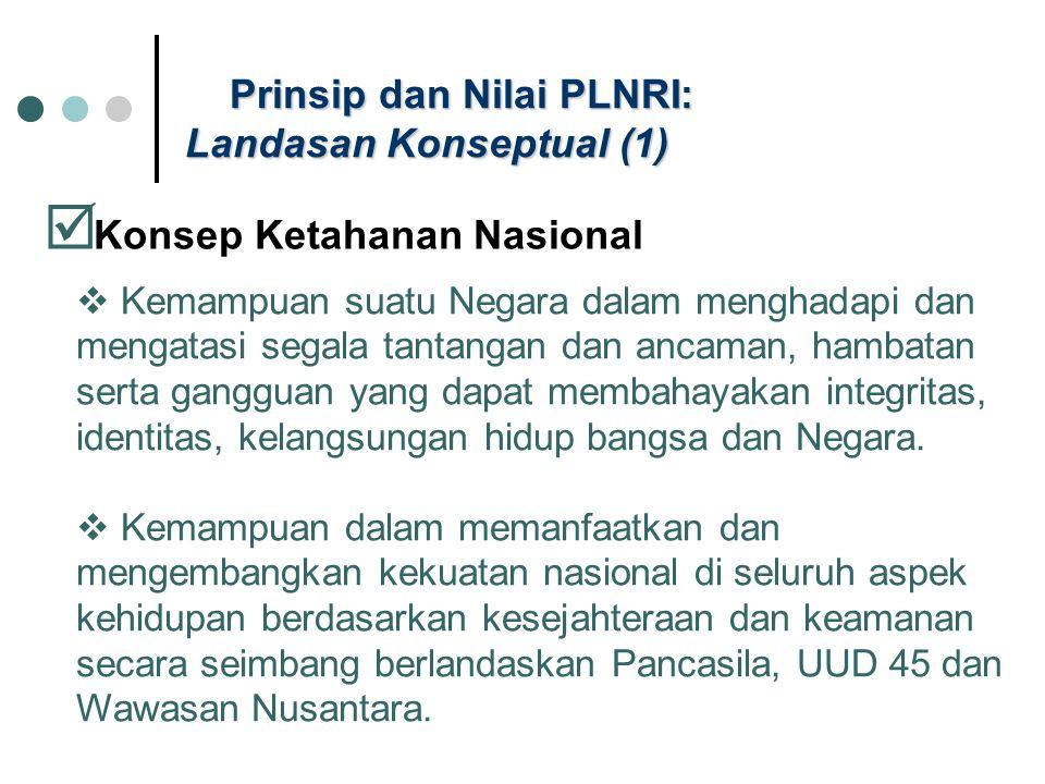 Prinsip dan Nilai PLNRI: Landasan Konseptual (1)