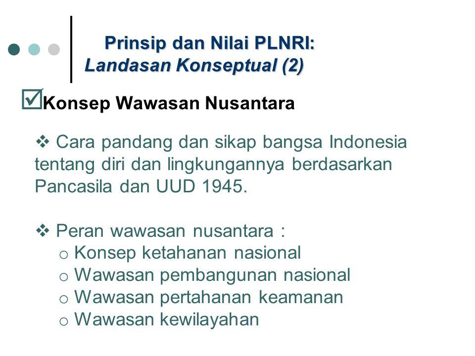 Prinsip dan Nilai PLNRI: Landasan Konseptual (2)
