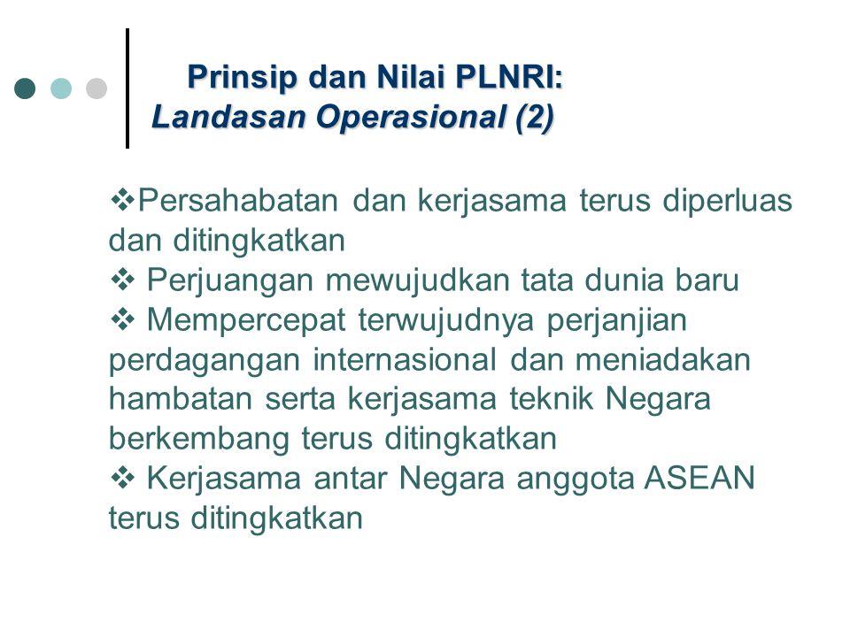 Prinsip dan Nilai PLNRI: Landasan Operasional (2)