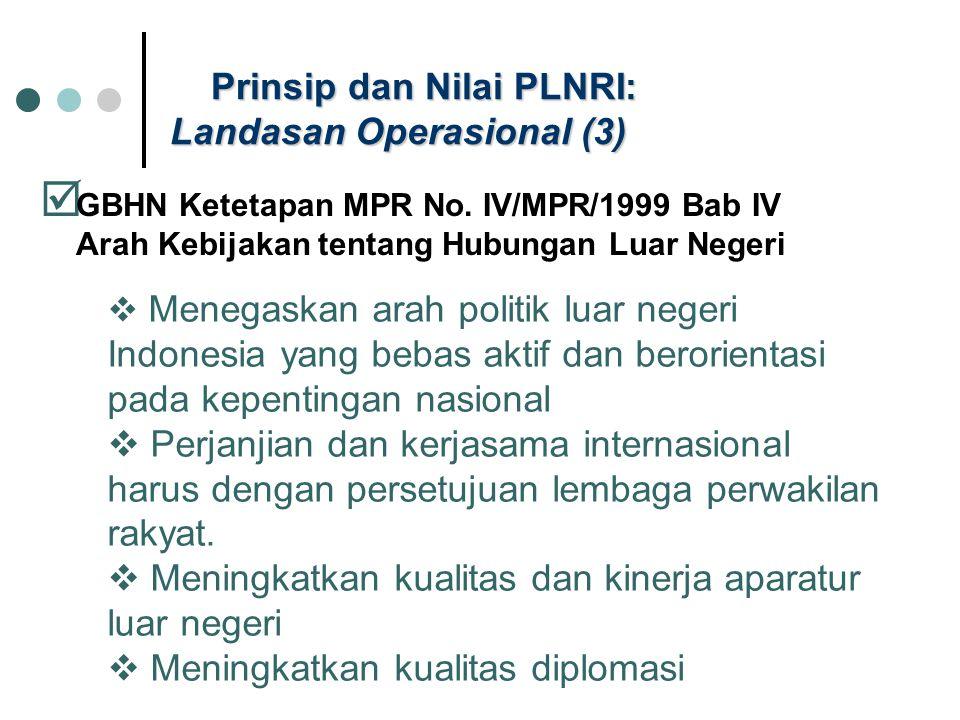 Prinsip dan Nilai PLNRI: Landasan Operasional (3)
