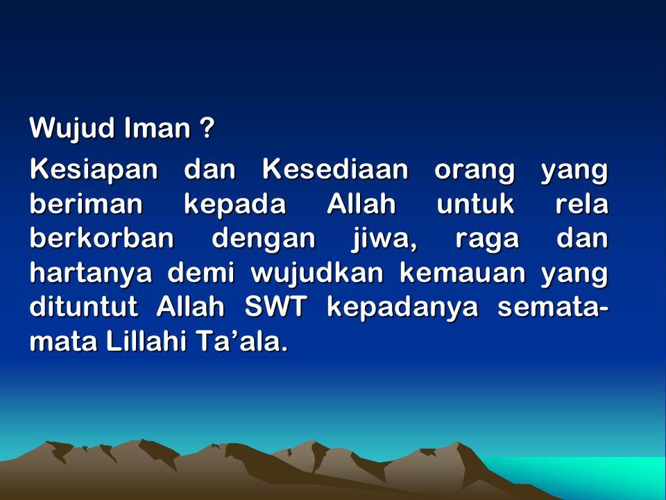 Wujud Iman