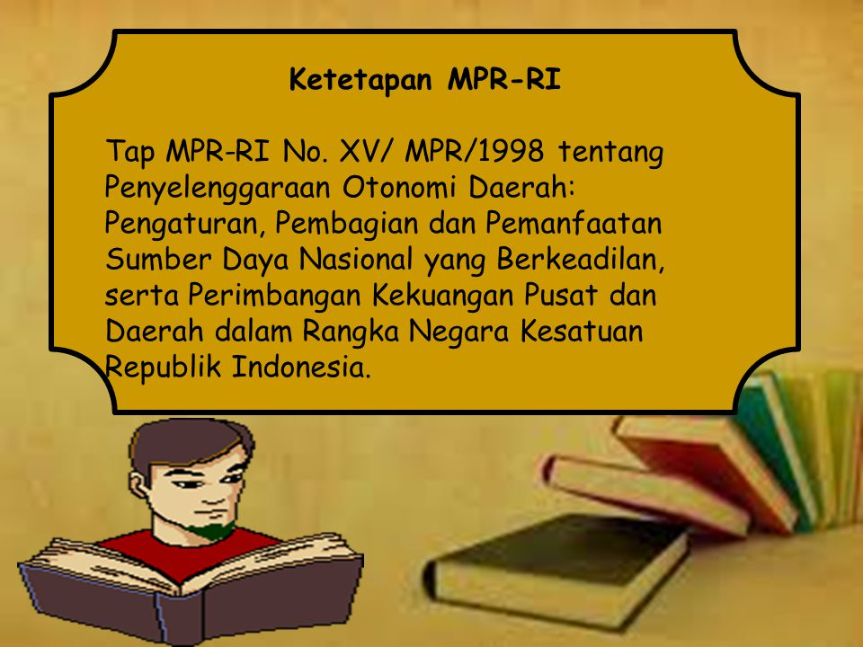 Ketetapan MPR-RI