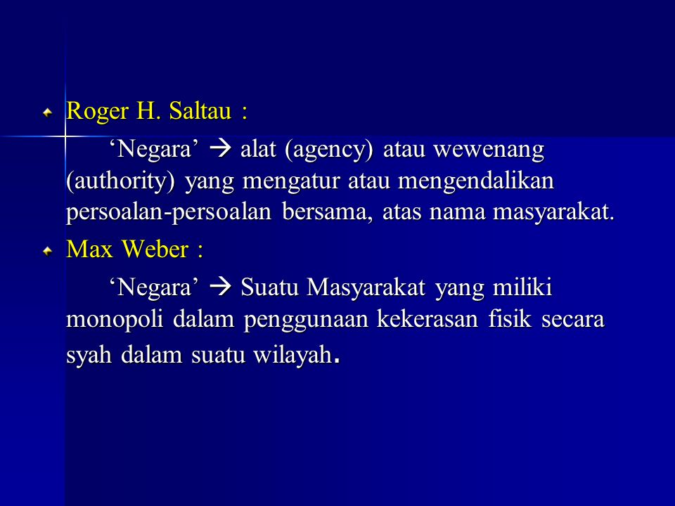 Roger H. Saltau :