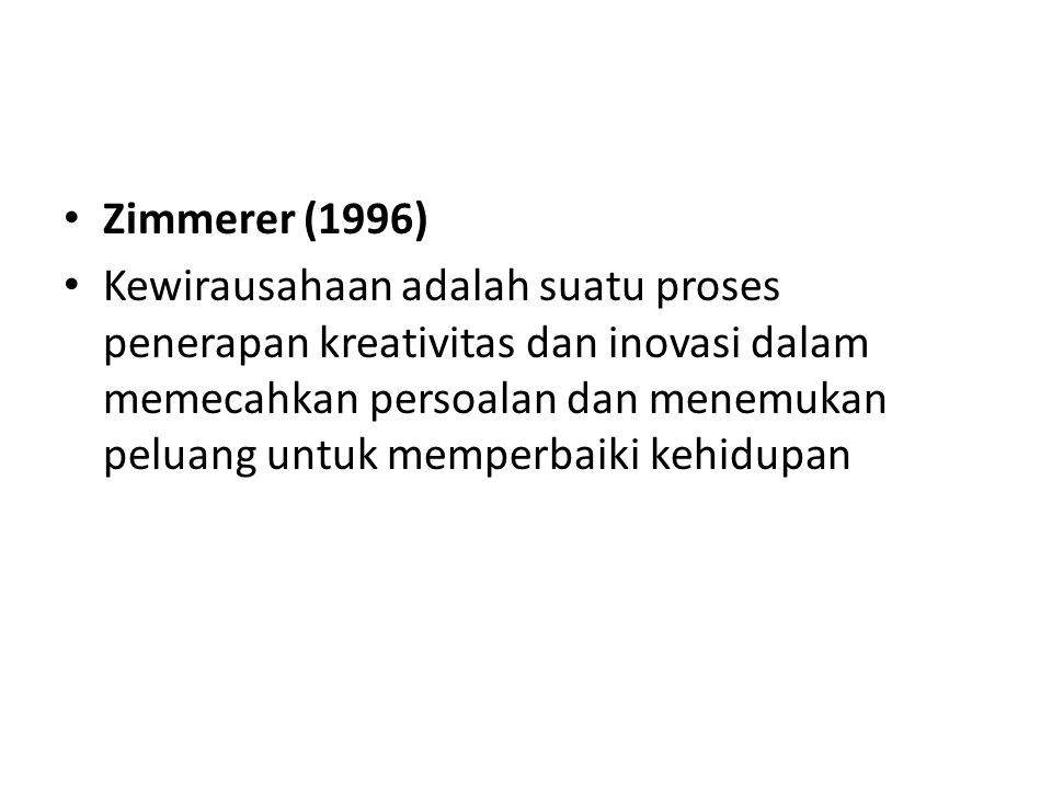 Zimmerer (1996)
