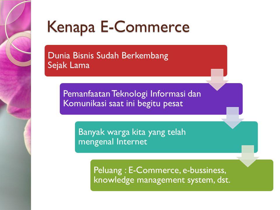 Kenapa E-Commerce Dunia Bisnis Sudah Berkembang Sejak Lama