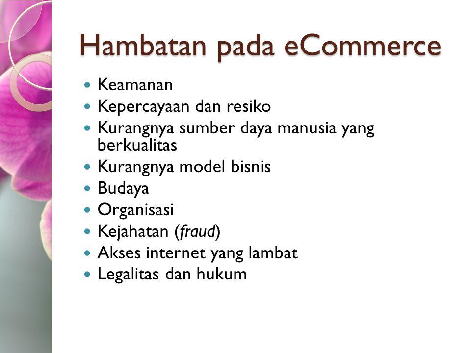Hambatan pada eCommerce