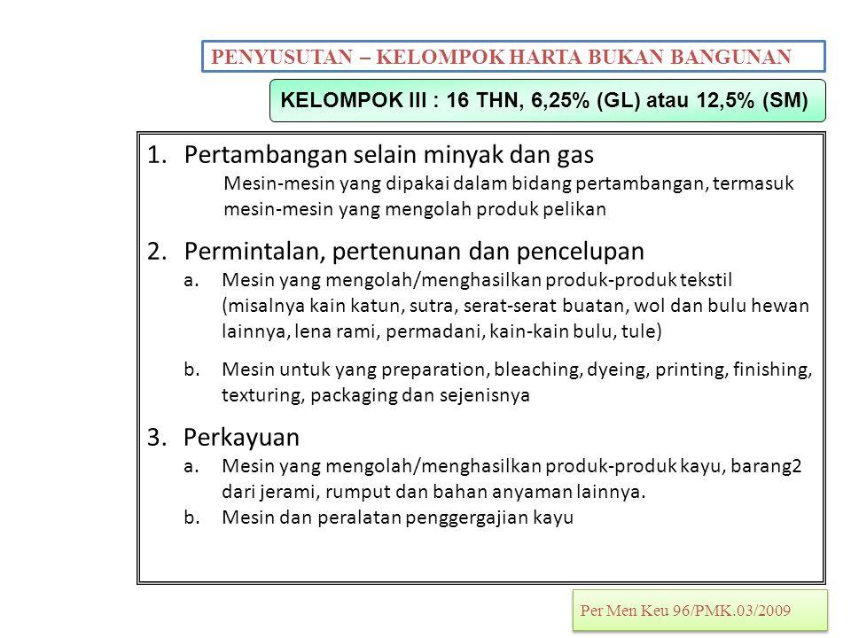 KELOMPOK III : 16 THN, 6,25% (GL) atau 12,5% (SM)
