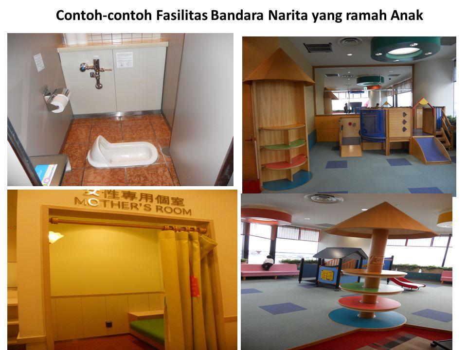 Contoh-contoh Fasilitas Bandara Narita yang ramah Anak
