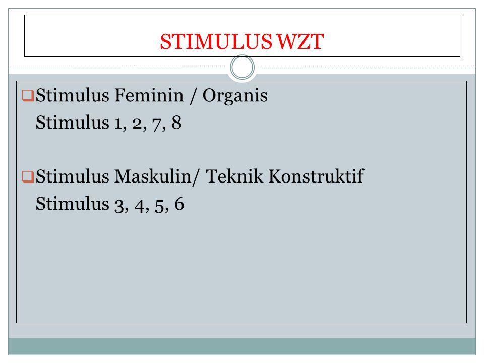 STIMULUS WZT Stimulus Feminin / Organis Stimulus 1, 2, 7, 8