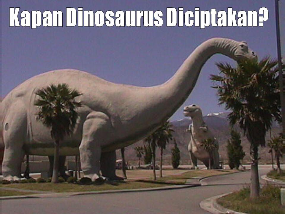 Kapan Dinosaurus Diciptakan