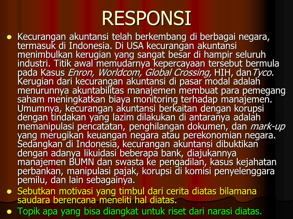 RESPONSI
