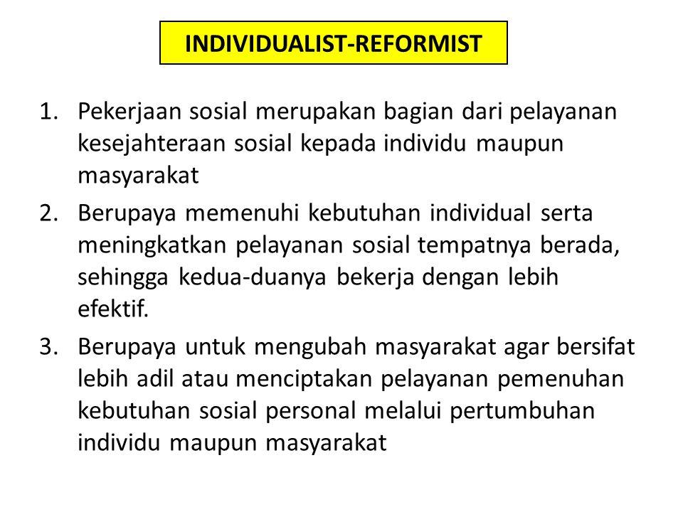 INDIVIDUALIST-REFORMIST