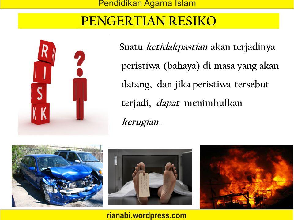 PENGERTIAN RESIKO
