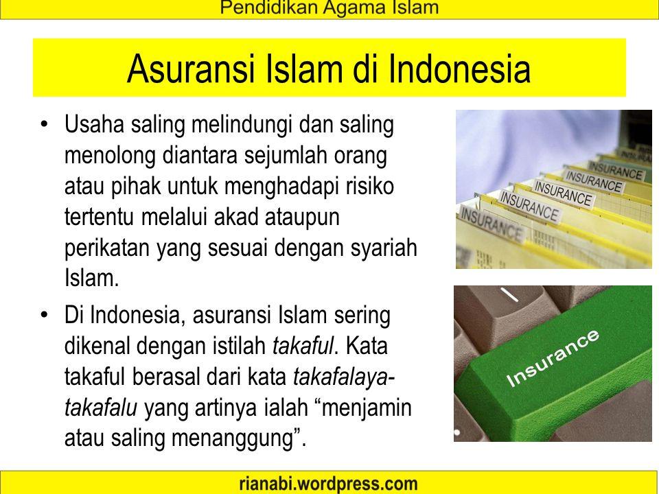 Asuransi Islam di Indonesia