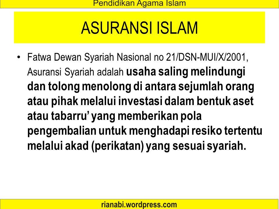 ASURANSI ISLAM