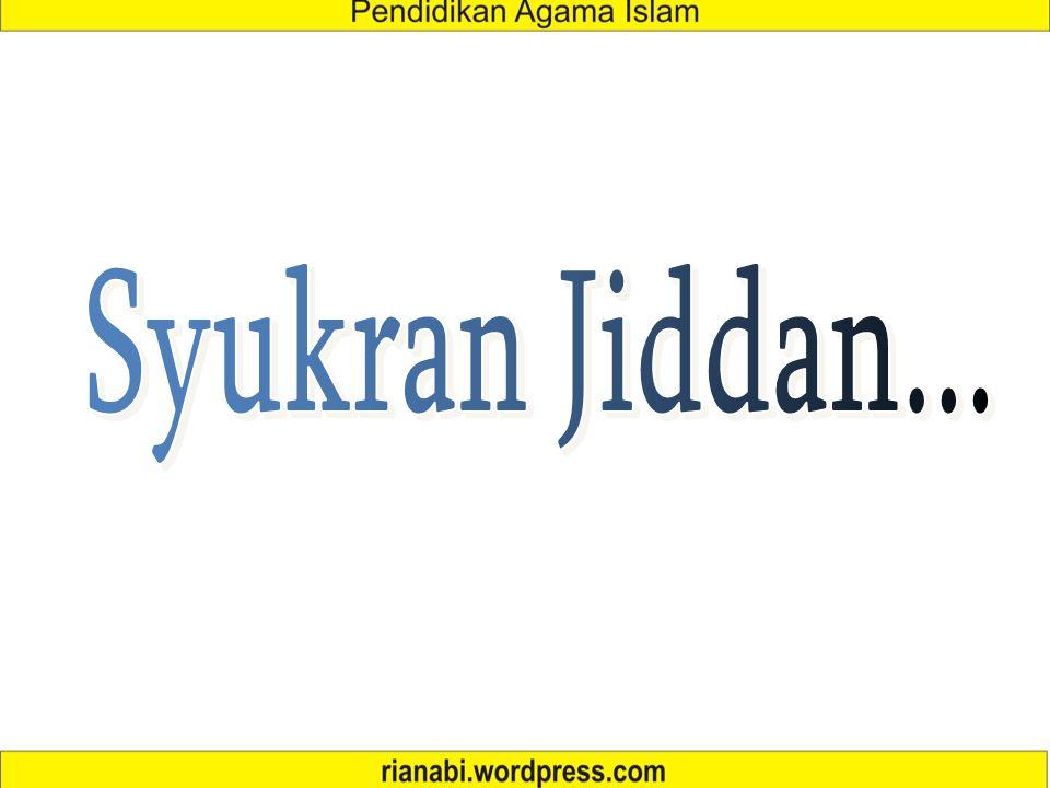 Syukran Jiddan...