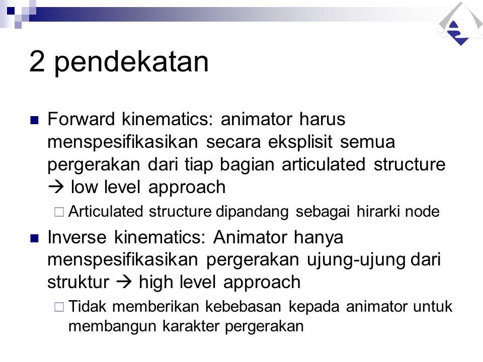 2 pendekatan