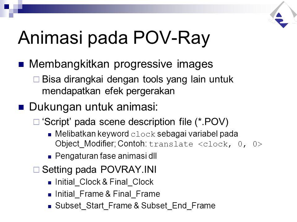 Animasi pada POV-Ray Membangkitkan progressive images