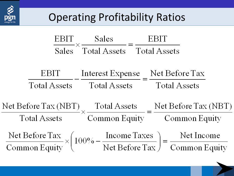 Operating Profitability Ratios