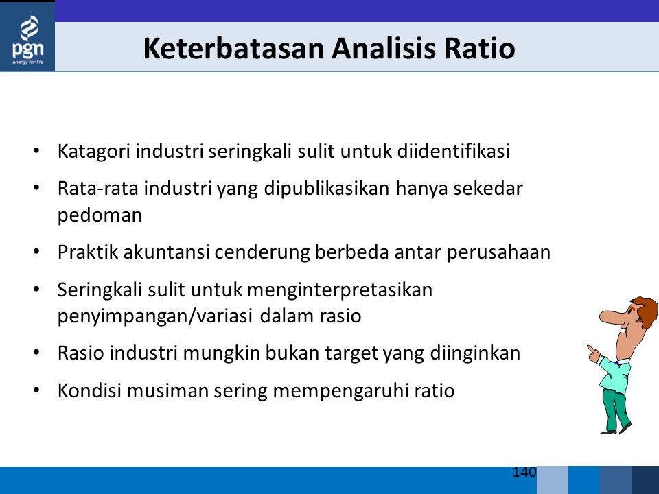 Keterbatasan Analisis Ratio
