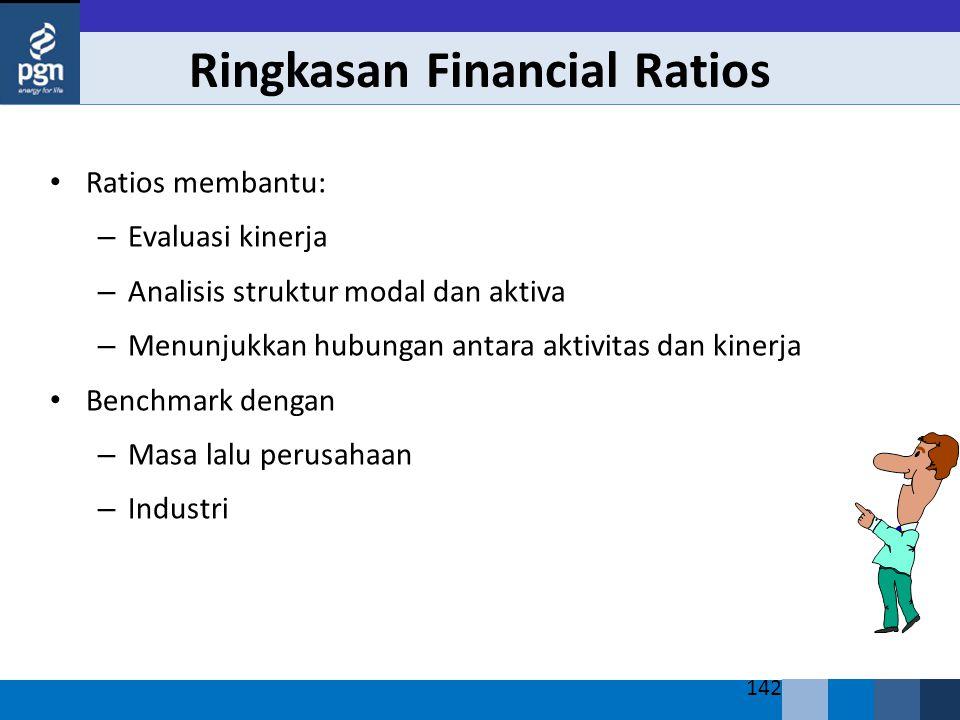 Ringkasan Financial Ratios