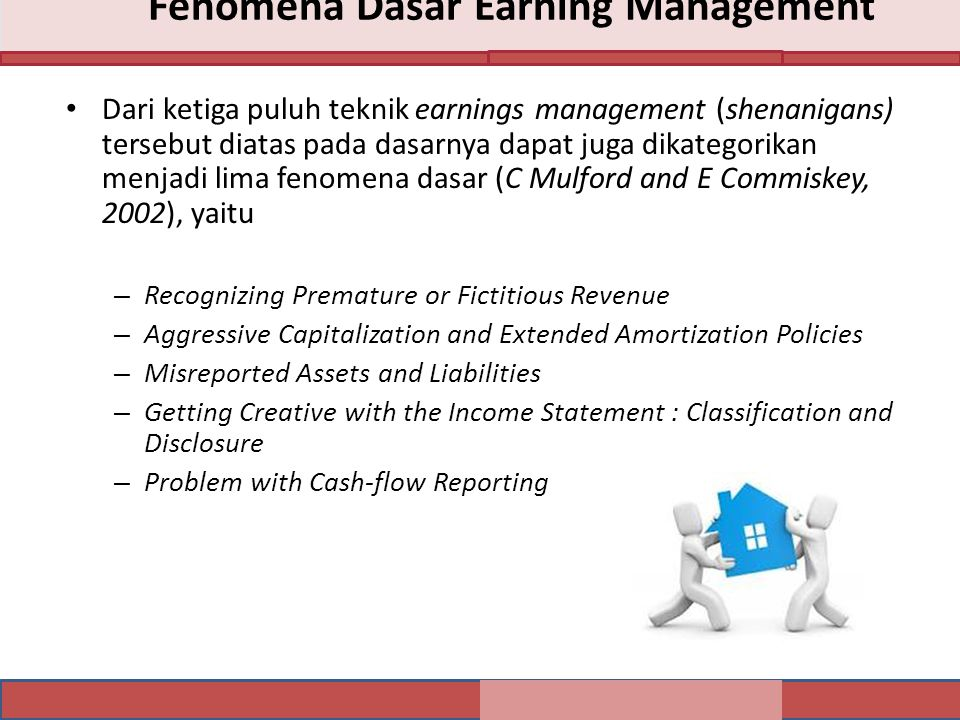 Fenomena Dasar Earning Management
