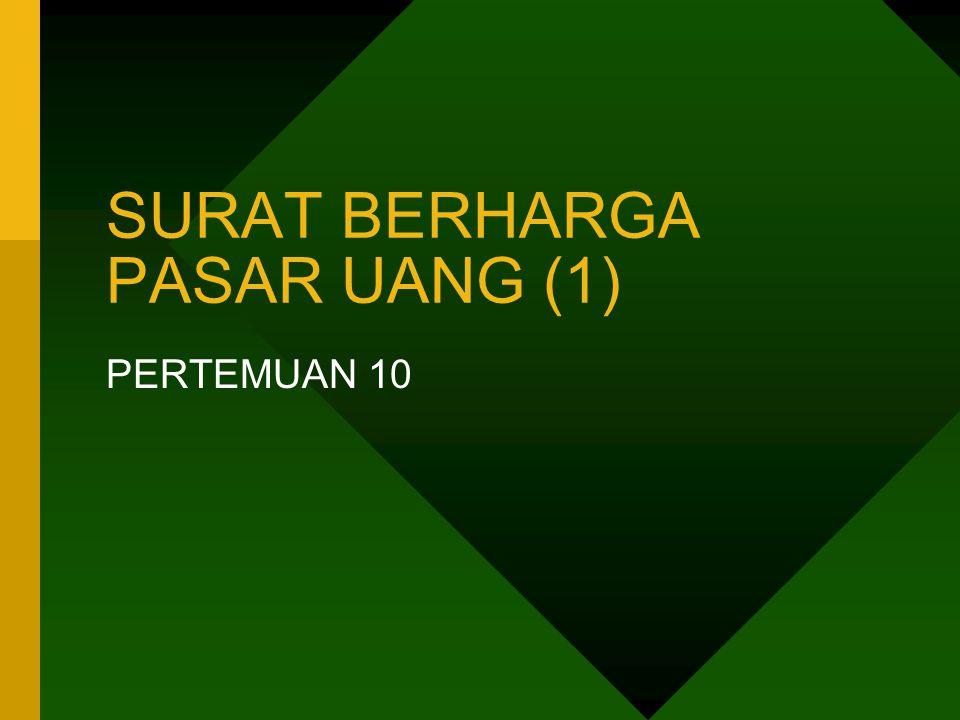 SURAT BERHARGA PASAR UANG (1)
