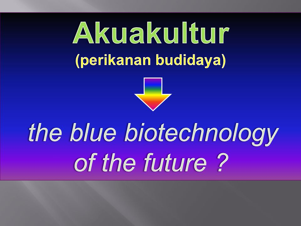 the blue biotechnology